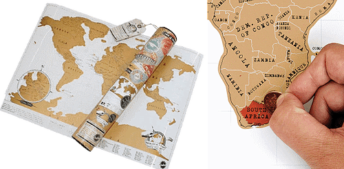 Mappamondo Scratch