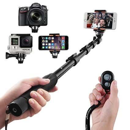 Selfie stick da viaggio