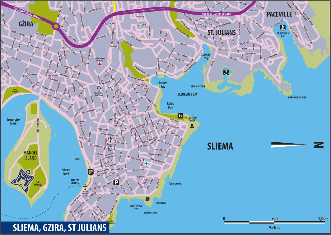 Cartina Di Malta Pdf.Le Cartine Di Malta Per Orientarsi Nell Isola Guida Di Malta