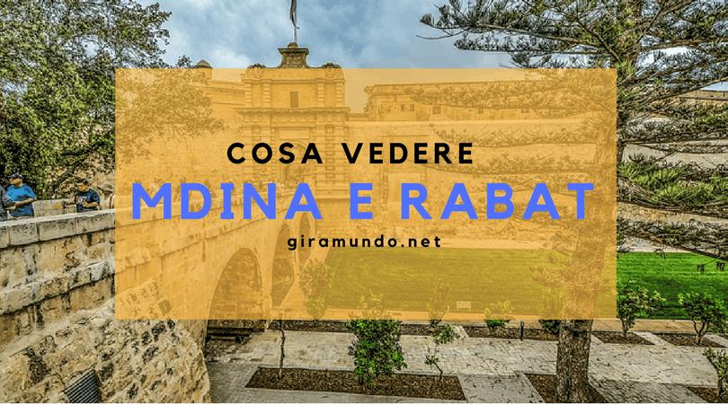 L 39 antica capitale mdina rabat tutte le cose da sapere guida di malta - Trovare casa a malta ...