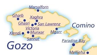 Alloggiare a Malta, Gozo