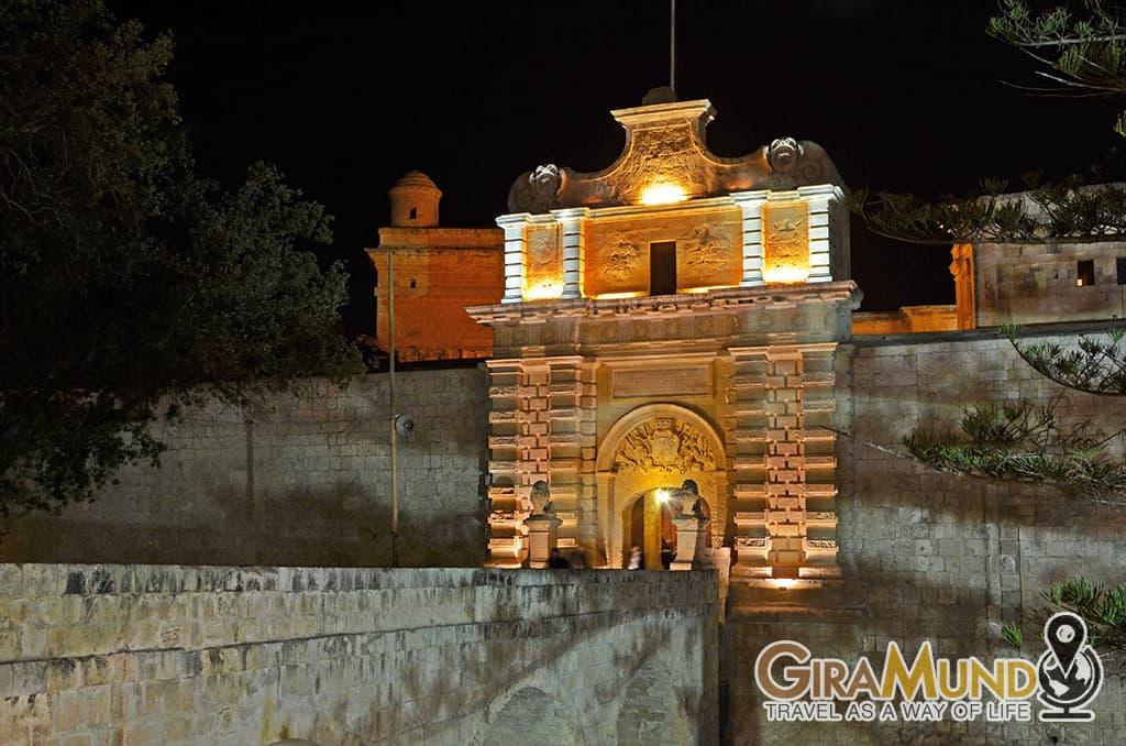 Gate in Mdina, Malta