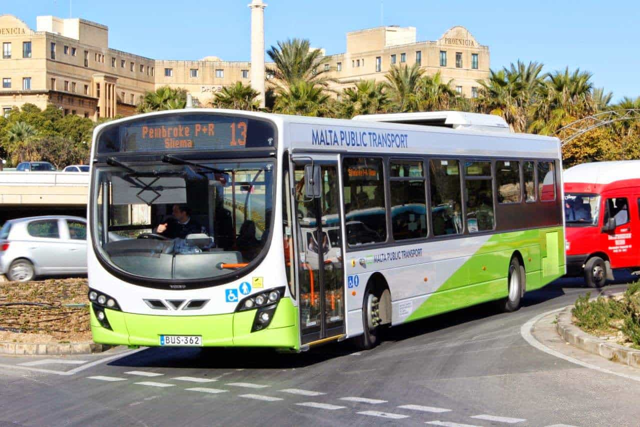 Public transportation Malta