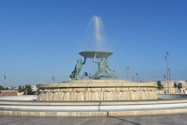 Triton_Fountain