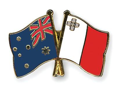 australia malta