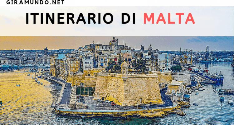 itinerario malta
