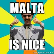 malta is nice