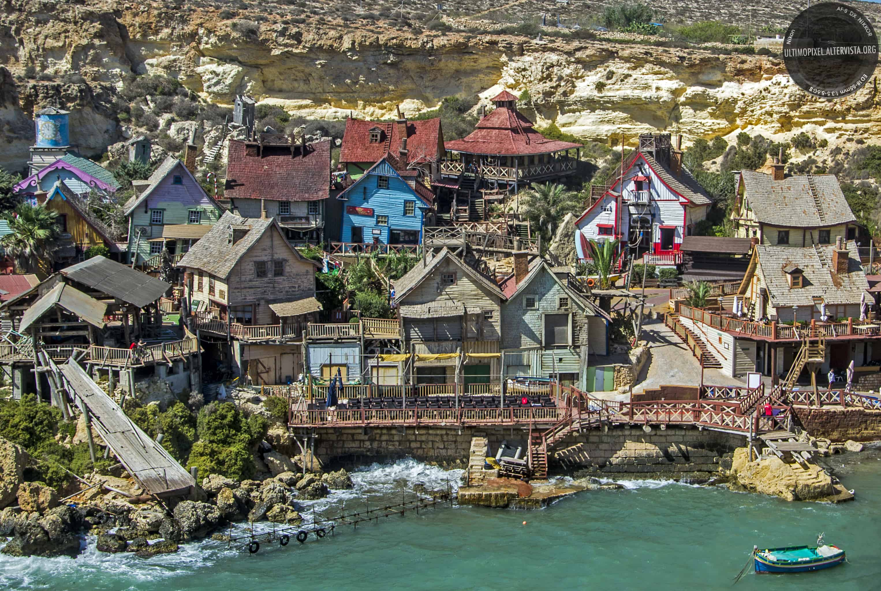 Popeye Village in Mellieha