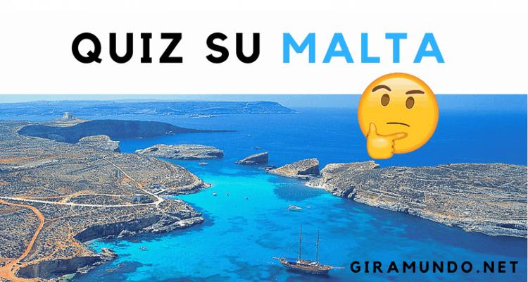 quiz su Malta