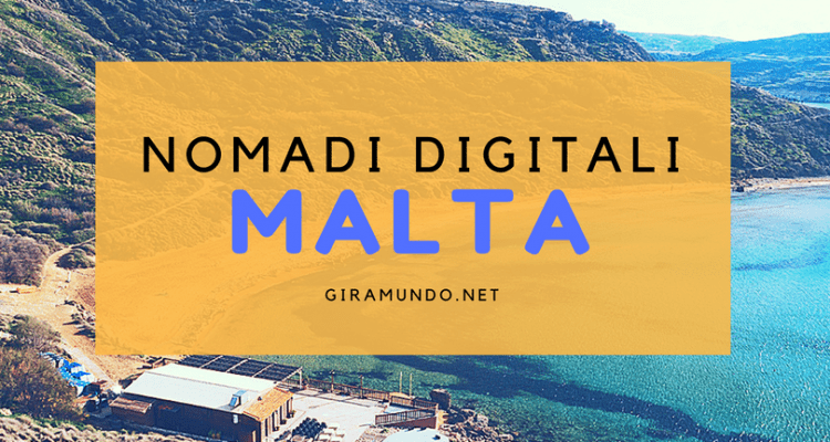 vivere a malta da nomadi digitali